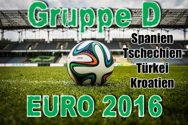 Europameisterschaft 2016 Gruppe D